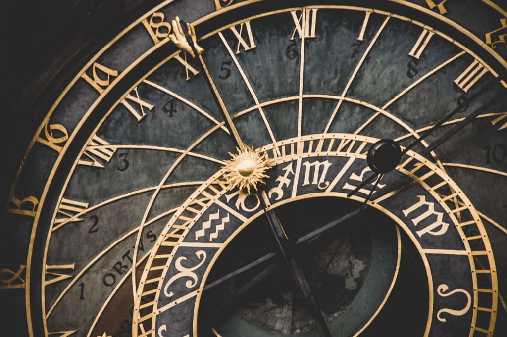 Image of a clock, consider continuity when self-editing fiction